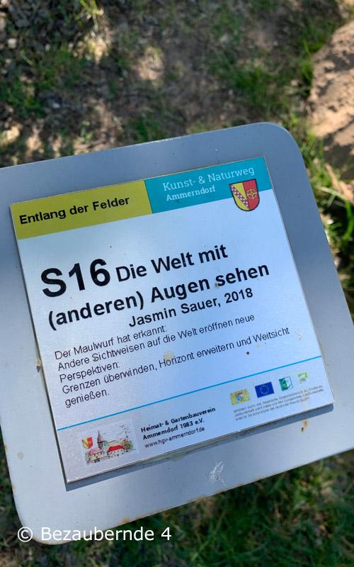 Der Kunst- und Naturweg in Ammerndorf