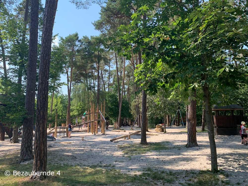 Waldspielplatz im Tierpark Höllohe in Teublitz