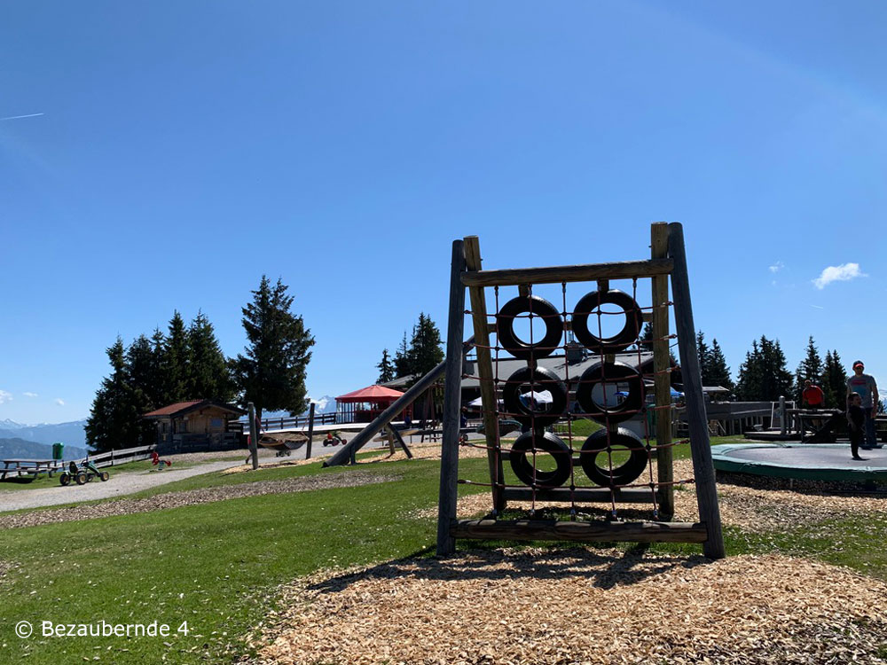 Spielplatz an der Bergstation Scheffau am Wilden Kaiser