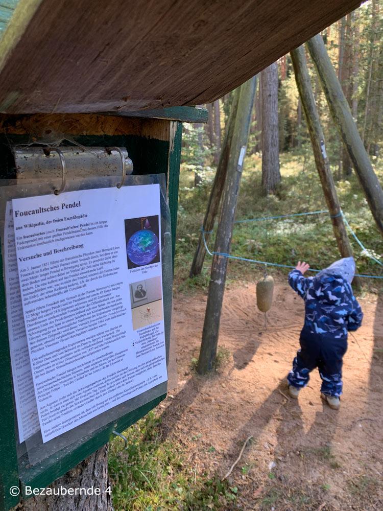 Ein Erlebniswanderweg für ältere Kinder im Fränkischen Seenland
