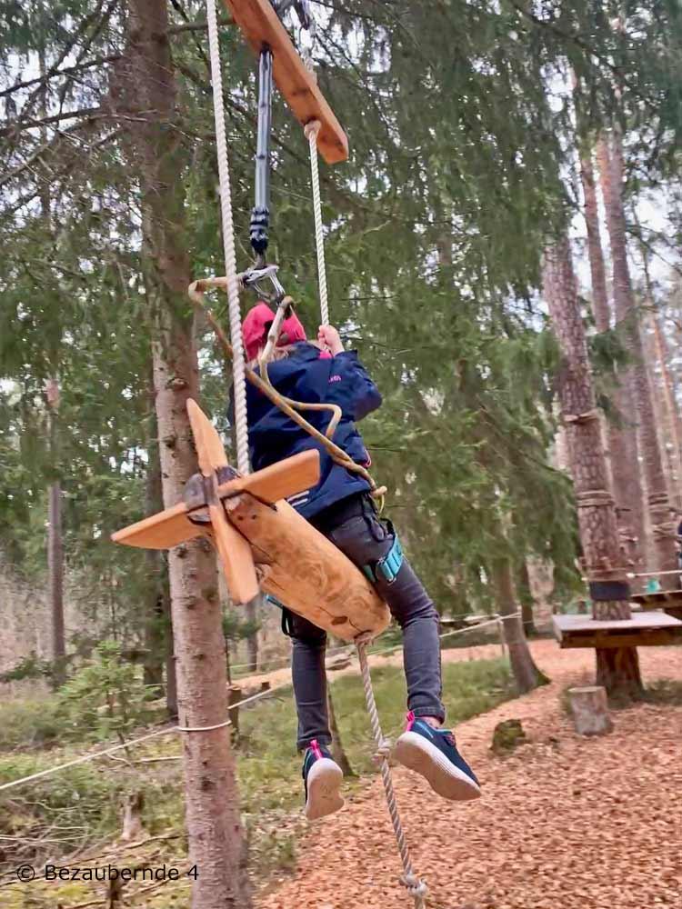 Kletterwald Weiherhof: Ein toller Hochseilgarten für Kinder ab 4 Jahren bei Nürnberg.
