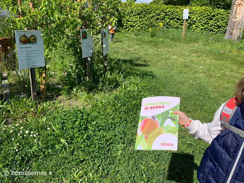 Streuobsterlebnispfad Burgbernheim für Kinder